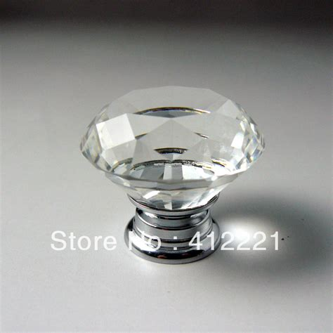 crystal kitchen cabinet knobs clear drawer pulls crystal wardrobe door handles 42 new