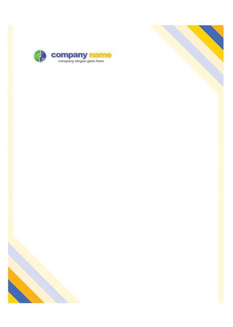 45 Free Letterhead Templates Exles Company Business Personal Letterhead Template