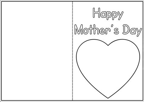 mothers day card template doc mothers day cards templates craftshady craftshady