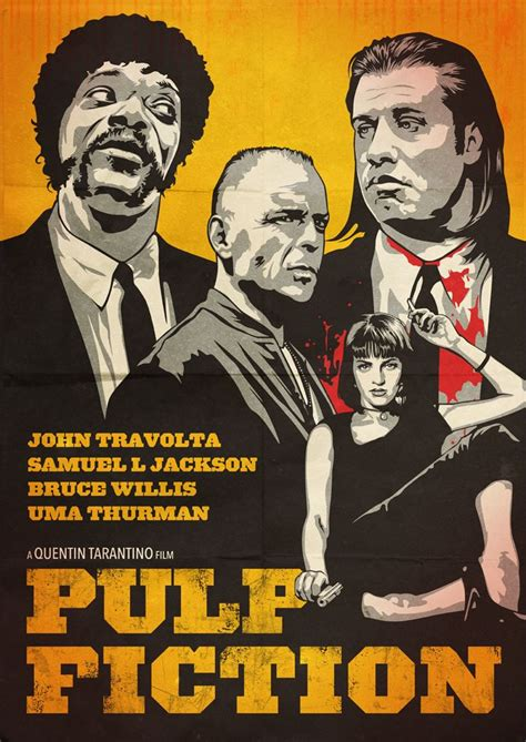 gifts for pulp fiction fans 17 best images about pulp fiction fan art on pinterest