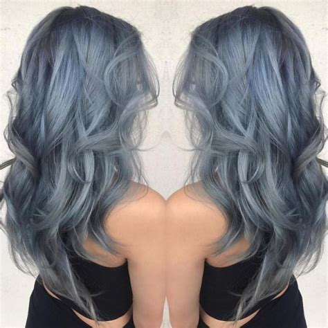 best 25 silver blue hair ideas on blue grey