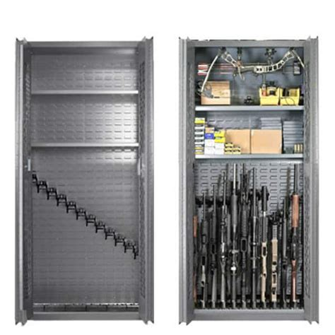 cabinet with gun storage gun cabinet model 72 12 2 secureit gun storage