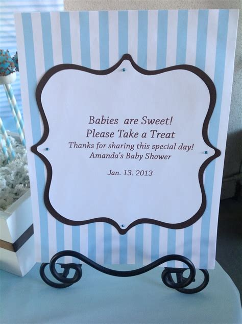 Baby Shower Buffet Sign Template by 17 Best Images About Buffet Banners And Signs On