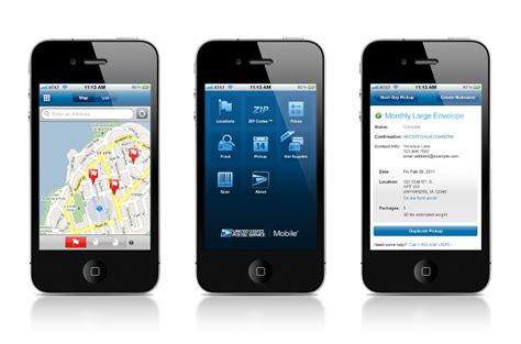 mobile usps usps mobile for iphone t collier user experience