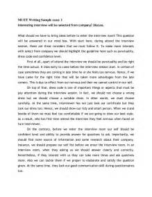 Muet Band 4 Essay by Muet Writing