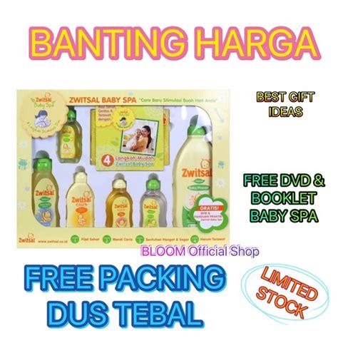 Jual Perlengkapan Mandi Bayi Zwitsal by Murah Zwitsal Baby Spa Gift Box Set Kado Perlengkapan