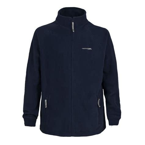 Polar Fleece Zip Jacket trespass kazan mens polar fleece zip jacket navy blue ebay