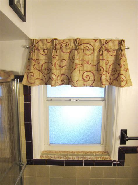 window valances ideas the reformatory bathroom window valance