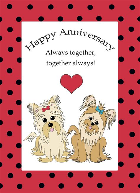 printable anniversary cards him 6 best images of printable anniversary cards online free