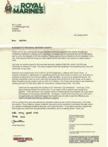 Introduction Letter Of Charitable Trust Royal Marines Charitable Trust Alec Lucas Memorial Trust