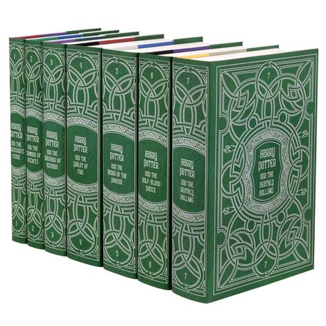 Custom Hp Collection complete harry potter book set in custom jackets juniper books