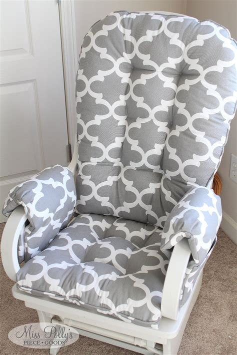 Nursery Rocking Chair Cushions Cushions For Rocking Chairs Nursery Custom Chair Glider 1 Sopje Info