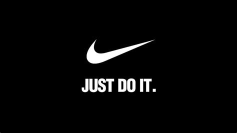 nike just do it white logo 4k wallpaper