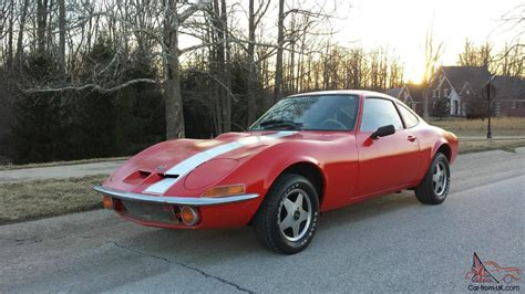 1972 Opel Gt by 1972 Opel Gt 1 9 Liter Automatic And Clean