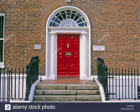 Georgian Style Front Door Georgian Style Front Door Of The Town House Dublin Ireland Stock Photo Royalty Free Image