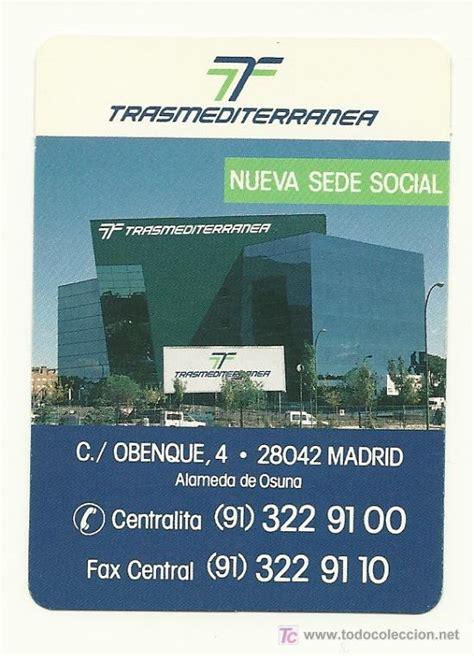 Calendario A O 1995 Calendario De La Compa 241 237 A Trasmediterr 225 Nea A 241 O Comprar