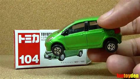 toyota vitz takara tomy tomica die cast car collection no 104 11 unboxing