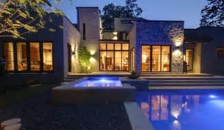 used for a movie set modern home in atlanta by castro