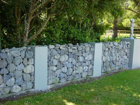 Rocks For Backyard Gabion Rock Baskets Amp Secure Rock Wall Fences Rock Basket