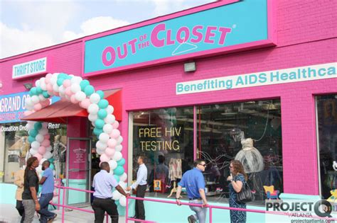 Out Of The Closet Pharmacy by Hiv Launches New Thrift Store On Cheshire Bridge