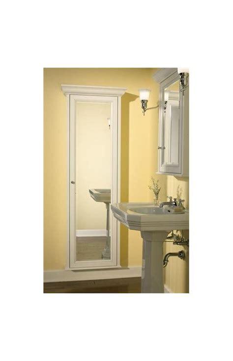 full length mirror cabinet by robern robern mfh1dcr8er white full length single door mirrored