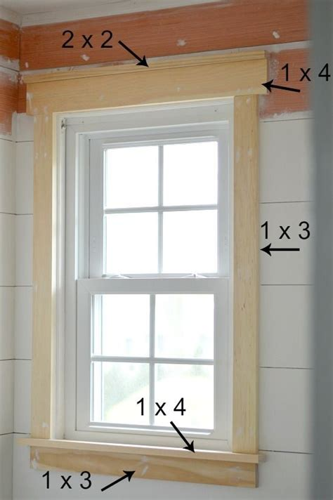 Trim Around Windows Inspiration The 25 Best Molding Around Windows Ideas On Farmhouse Style Kitchen Curtains