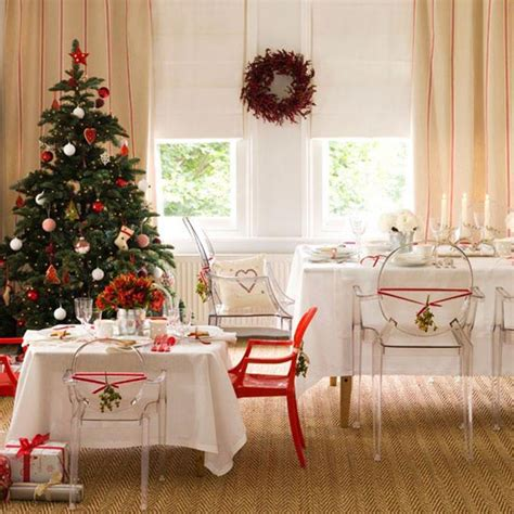 Dining Room Christmas Decorations by Dining Room Christmas Decor Ideas Interiorholic Com