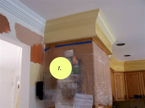 crown molding in kitchen with soffit soffit above kitchen what to do with kitchen soffits the colorful beethe