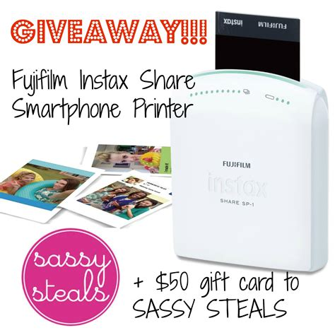 Smartphone Giveaway 2014 - smartphone printer giveaway love the day