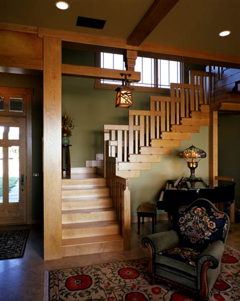 craftsman style homes interiors craftsman style interiors the stairway apprentice