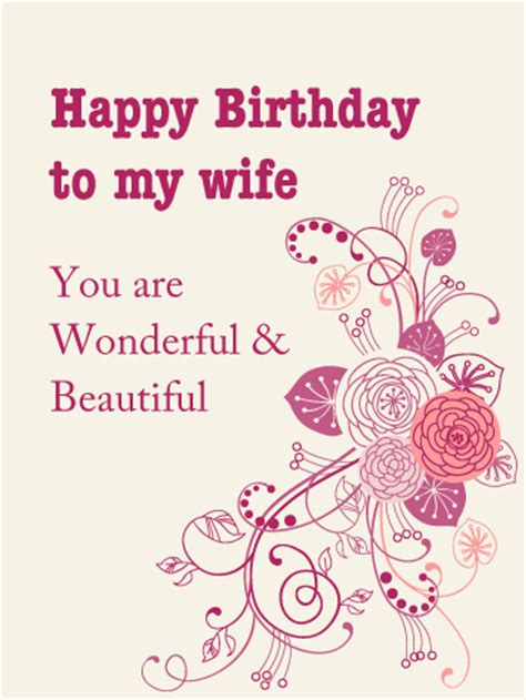 printable birthday cards for a wife birthday cards for wife birthday greeting cards by
