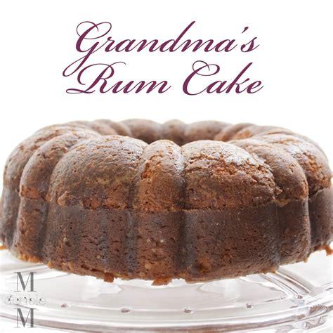 recipe for rum cake rum cake i recipe dishmaps