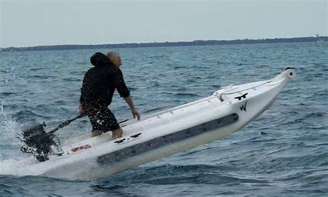 worlds fastest outboard boat the world s fastest kayak wavewalk 174 stable fishing