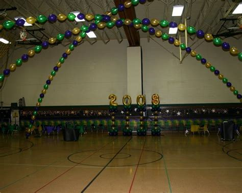 Mardi Gras Dance Floor Arches by Balloons By Design
