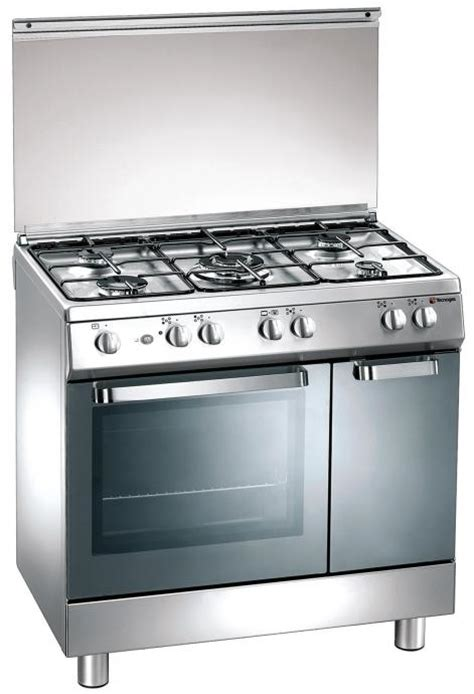 Oven Gas Tecnogas gas cooker 80x50 cm 5 burners gas oven tecnogas ark 239 191 189