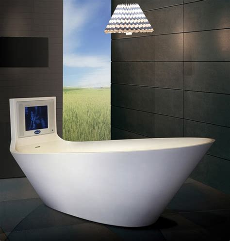 bathroom tv ideas 5 cool bathtubs with built in tvs digsdigs
