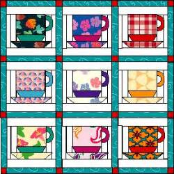 Coffee Quilt Pattern by Coffee Cups Quilt Or Call Them Tea Cups Or Cocoa Cups