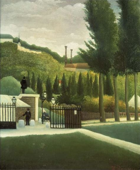 The Toll House 1890 Henri Rousseau Wikiart Org