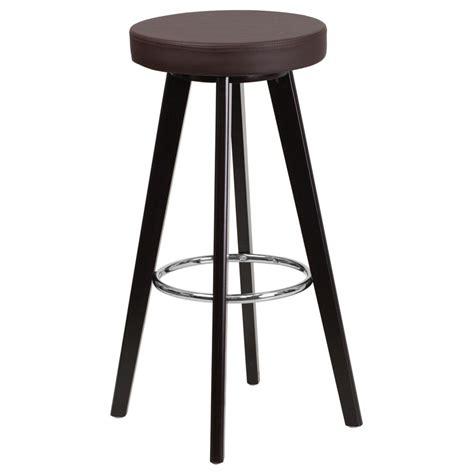 Bar Stool Brown by Transcend Modern Brown Bar Stool Eurway Furniture