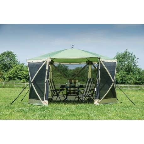 instant up screen house with awnings quest pop up instant spring up screen house 6 gazebo
