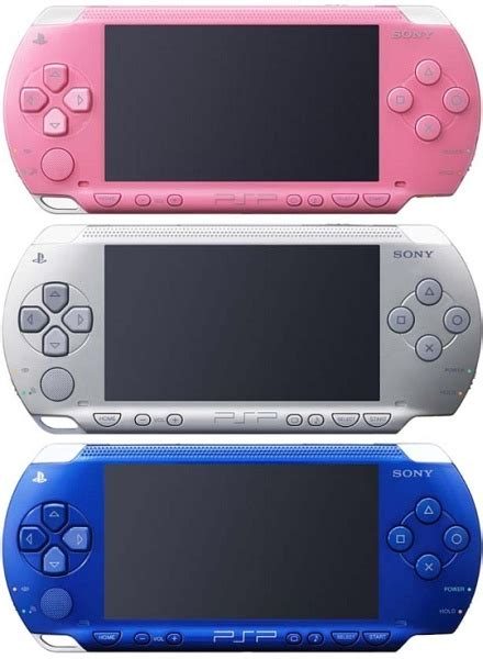 Psp Now Comes In Colours by Coloured Psp S Official Uk Releases Or Imports
