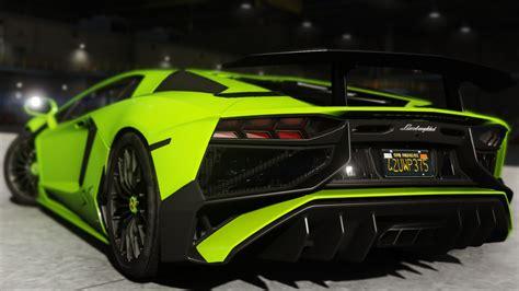 Lamborghini Aventador Lp700 4 2015 Lamborghini Aventador Lp700 4 Add On Sv Kit