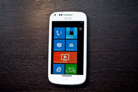 Samsung Focus 2 review samsung focus 2 smartphone windows phone for at t