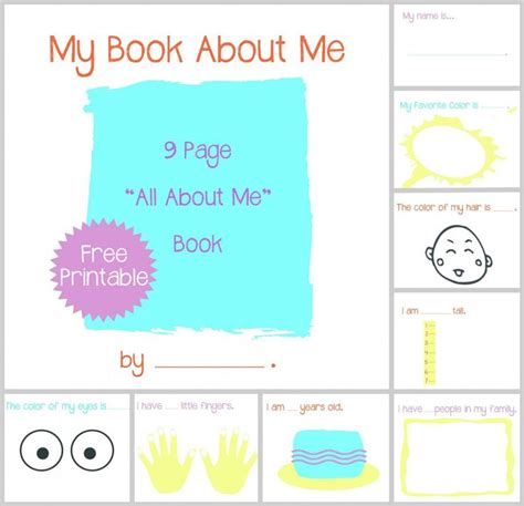 book themes for toddlers all about me book preschool and toddler activity with