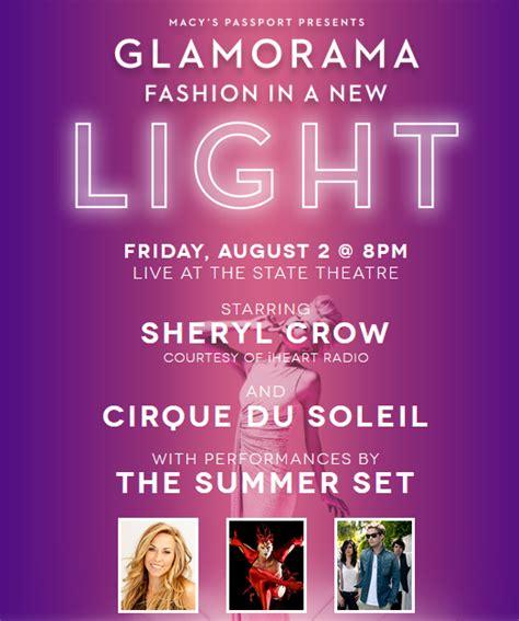 Macy S Cosmetics Giveaway - macy s glamorama 2013 with sheryl crow minneapolis state theatre august 2 jinxy
