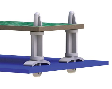 Support Boards by Essentra Components Locking Circuit Board Support Lcbs