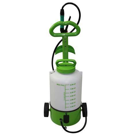 battery weed sprayer  wheels electric garden spray