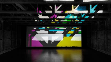 Lu Projector Byson artist olafur eliasson built a reality projector of smashing