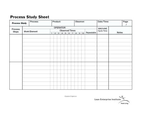 standard work excel template standard work templates standard work templates general