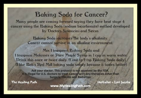 Daf Detox Protocol by Baking Soda For Cancer